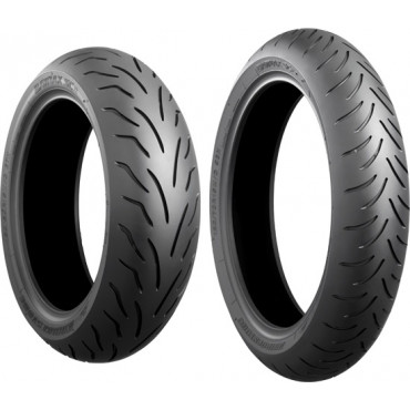 PNEU BRIDGESTONE 130/70 R16 61S BATTLAX SCOOTER R