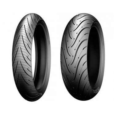 PNEU MICHELIN 120/60ZR17(55W) PIL ROAD 3 F