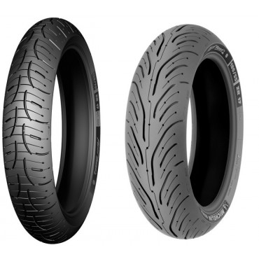 PNEU MICHELIN 180/55ZR17 MC 73W PILOT ROAD 4
