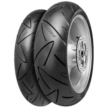 PNEU CONTINENTAL 120/70 ZR17 58W ROADATTACK 2