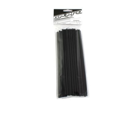 Paquet de 40 couvres rayons noir GP PRO 21CM